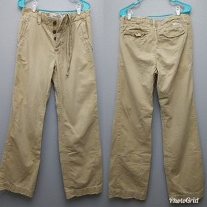 Abercrombie & Fitch 30 khaki Chino button fly pant